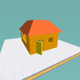 A house!