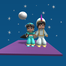 Alladdin & Princess Jasmine