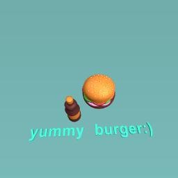 yummy burger:)