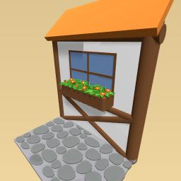 Window & flowers
