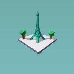 Eiffel tower park