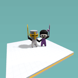 Helmet kid and Muggy
