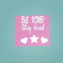 Be k8nd