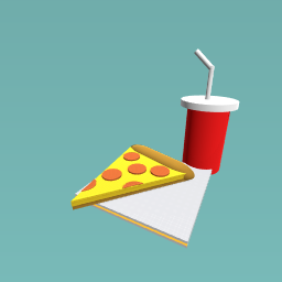 Pizza & drink