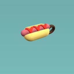 Hot Dog Charm