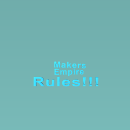 Makers Empire RULES!!