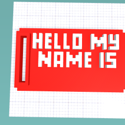 Your name tag