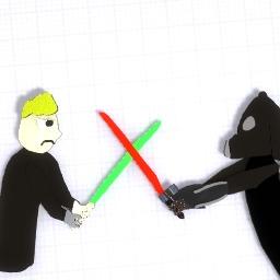 Vader VS Luke Poster