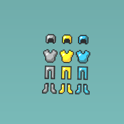 3 diffrent armor