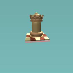 Checker piece