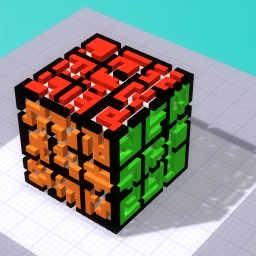 The amazing Rubik's maze