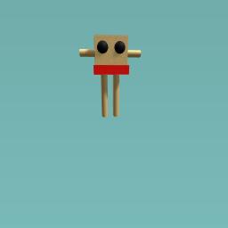 man in simming gear