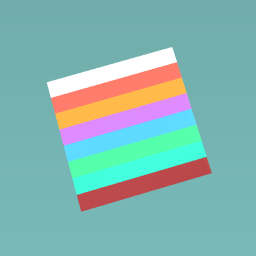 its a rainbow