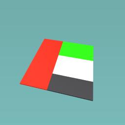 THE BUTIFAL UAE FLAG