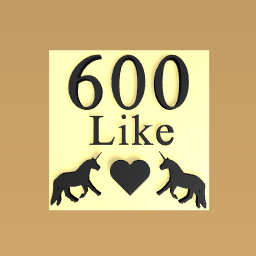 Thank you for 600 like