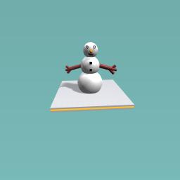 Snowy man