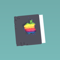 The rainbow apple