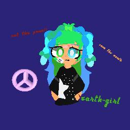 Earth-girl my art!