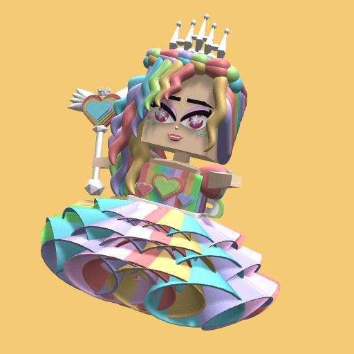 Pastel Princess full look (free)