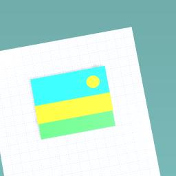 Flag of rwana