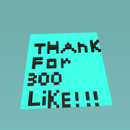 thanks for 300 like !!!!