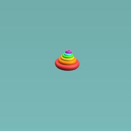 up rainbow cicle