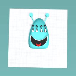 My blue alien