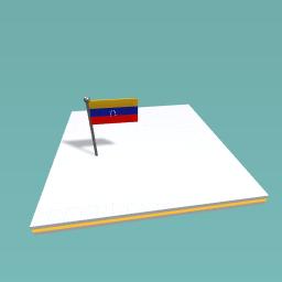 the flag of Venrzuela