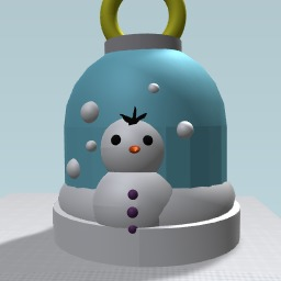 Christmas snowman glowball