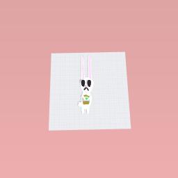 Easter bunny staue