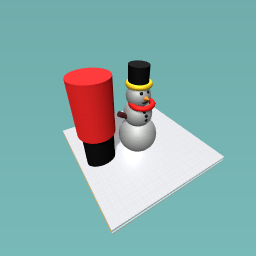 My Snowman Ornament