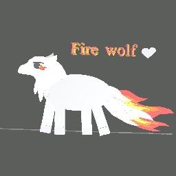 White Fire Wolf
