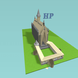 Hogwarts project (great hall)