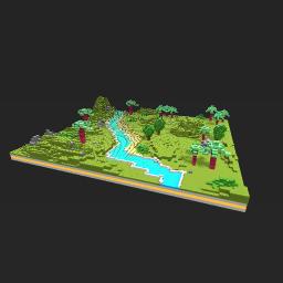 Block forest world