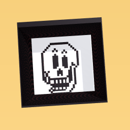 papyrus from undertale chocolate mould