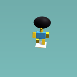 The biggest robloxian hair ever