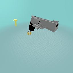 Magnum .45 gun.