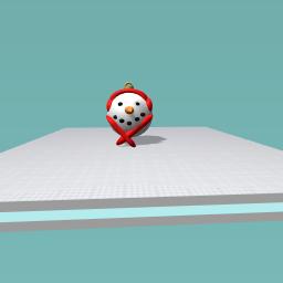 snowman bouble
