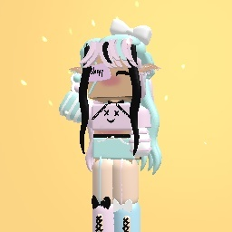 600 likes free - cute pastel baddie goth girl outfit-