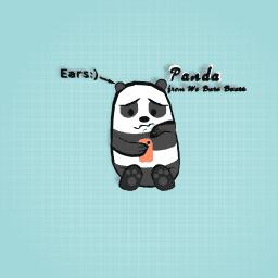Panda from We Bare Bears