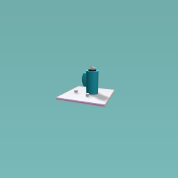 Blue cup