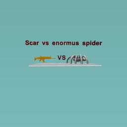 Scar vs spider