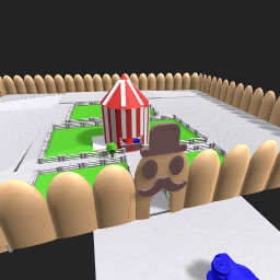 Not done with piggy carnival map