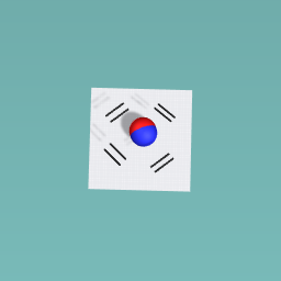 South korean flag!
