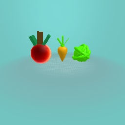 Apple carrot and i donno ;)