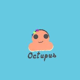 A small cute octupus