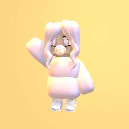 Pastel pink girl