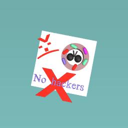 Donut saying no hackers