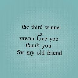 rawan love you