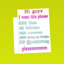 pleaseeeeeeee guys